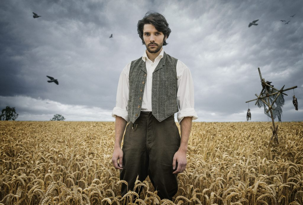 Programme Name: The Living and the Dead - Picture Shows: Nathan Appleby (COLIN MORGAN) - (C) BBC - Photographer: Robert Viglasky