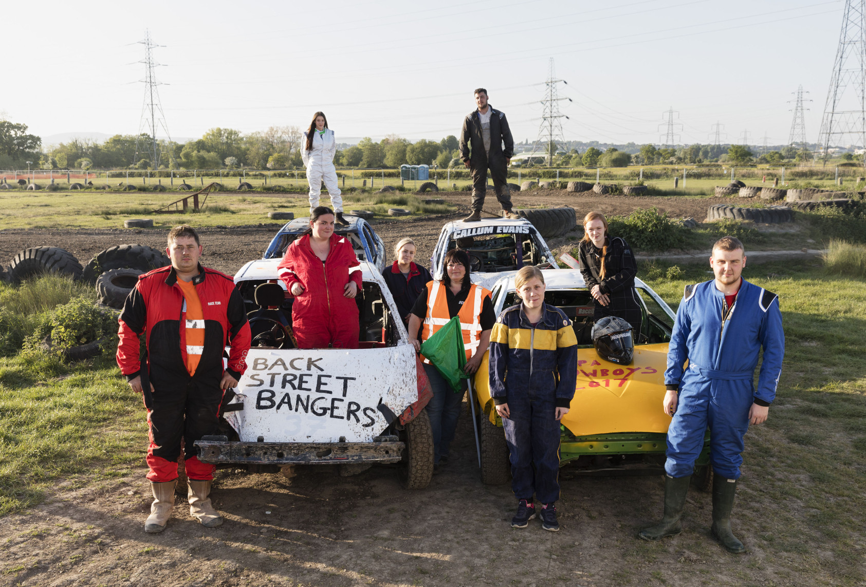 BBC Oneness, Banger Racing, St Brides, Photographer: Martin Parr