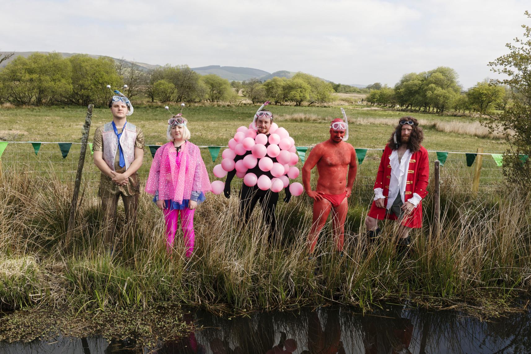 BBC Oneness, Bog Snorkling, Llanwrtyd Wells, Photographer: Martin Parr