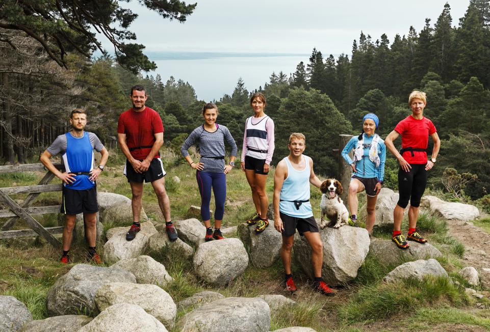BBC Oneness, Fell Runners, Photographer: Martin Parr