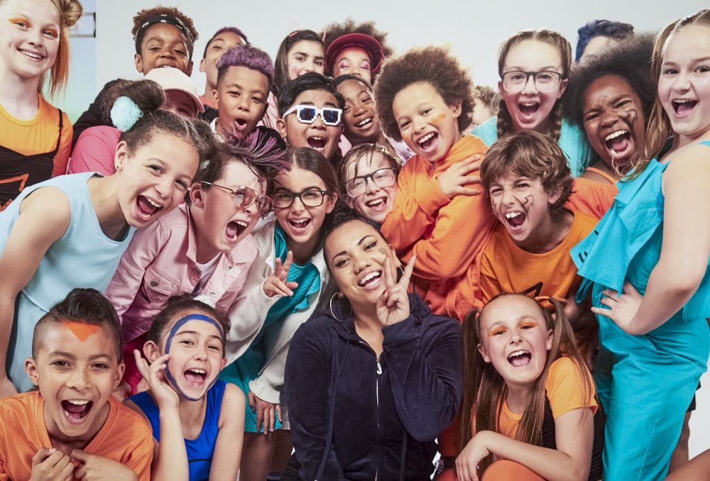 BBC Creative collaborate with Parris Goebel to launch CBBC's new campaign 'Find Your Tribe'