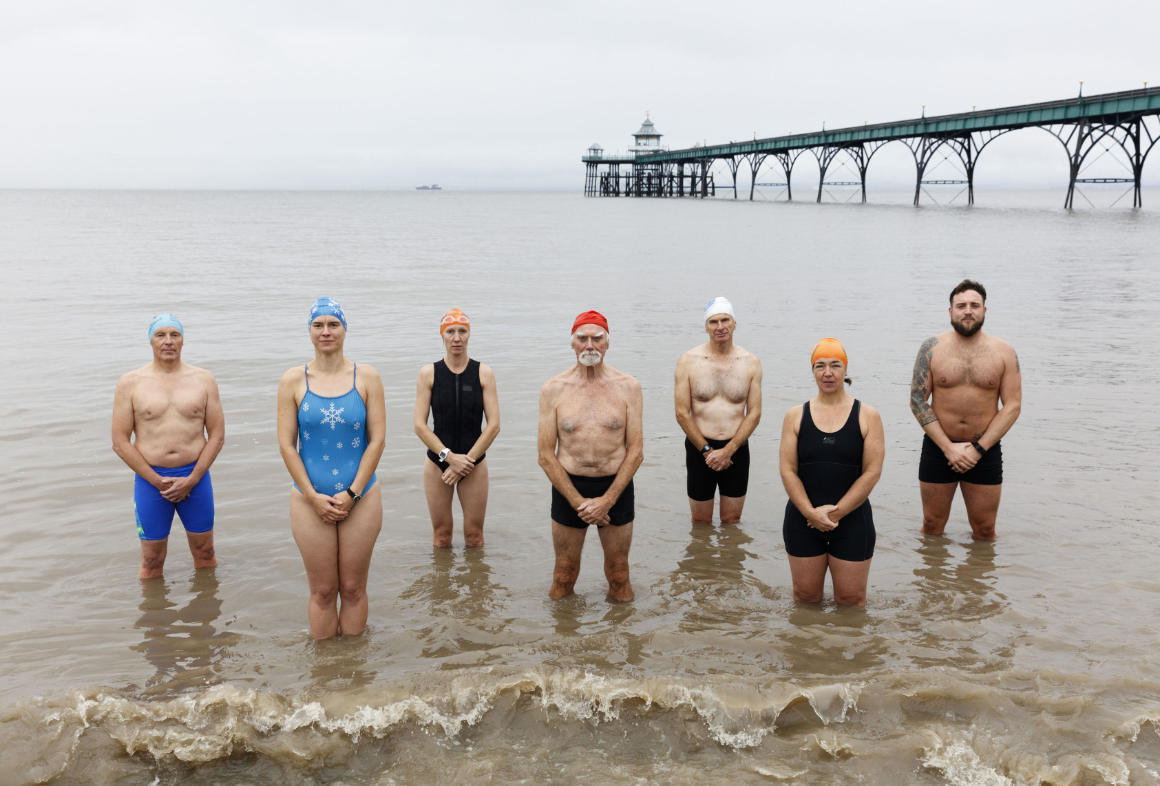 BBC One, Oneness, Swimmers, Clevedon, Photographer: Martin Parr