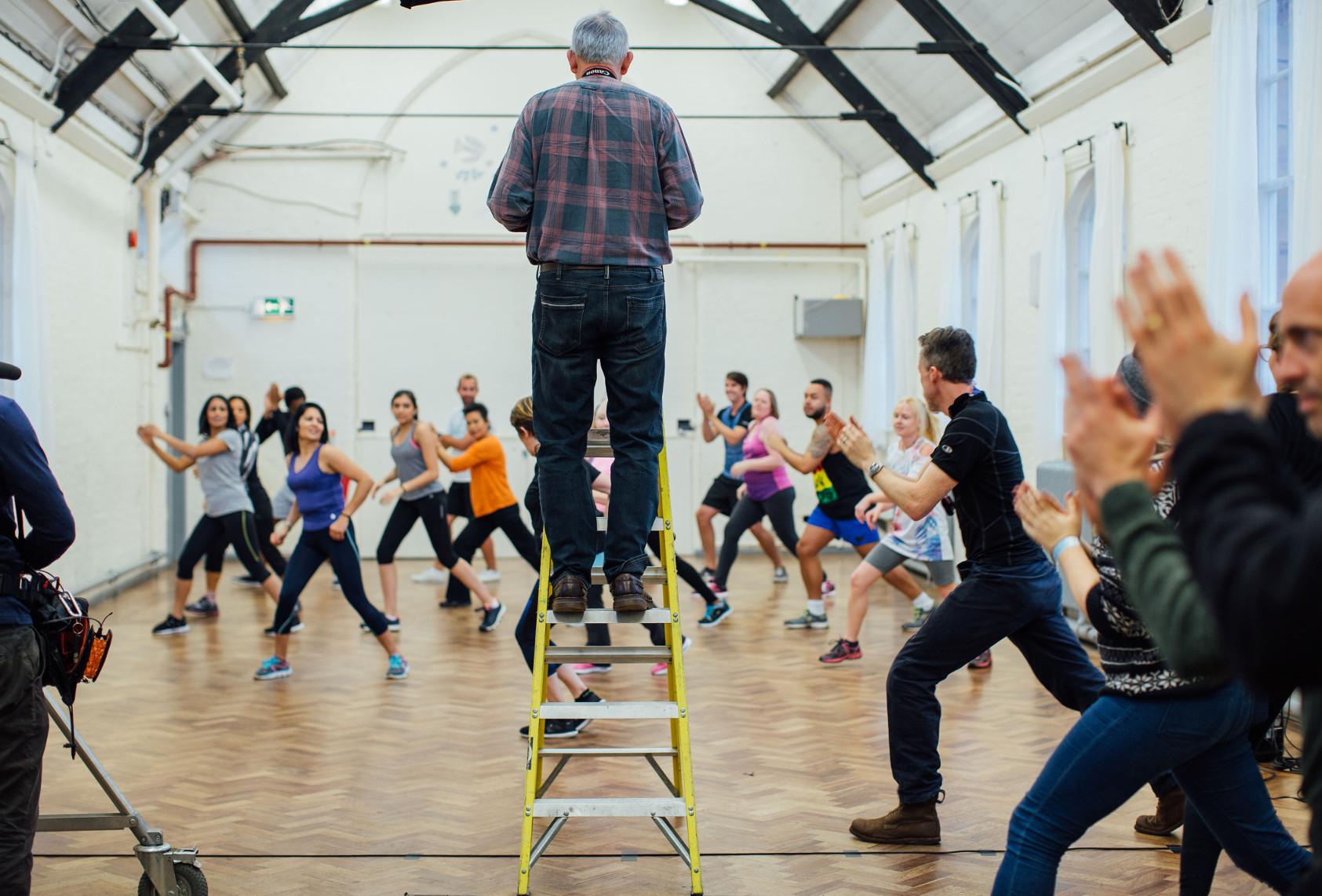 BBC Oneness - Exercise Class, Photographer: POLLY ALDERTON