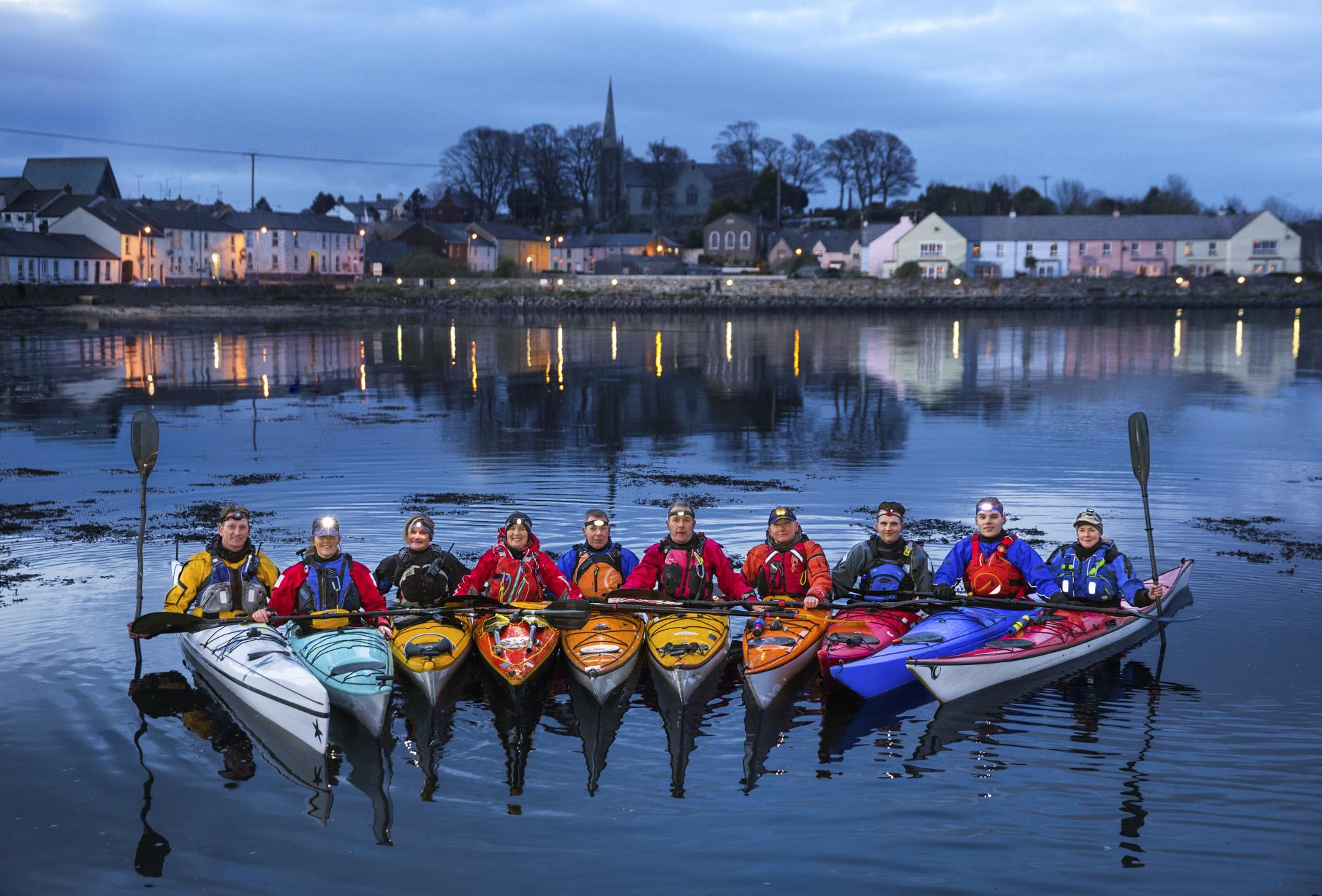BBC Oneness, Sea Kayakers, Belfast, Photographer: Martin Parr