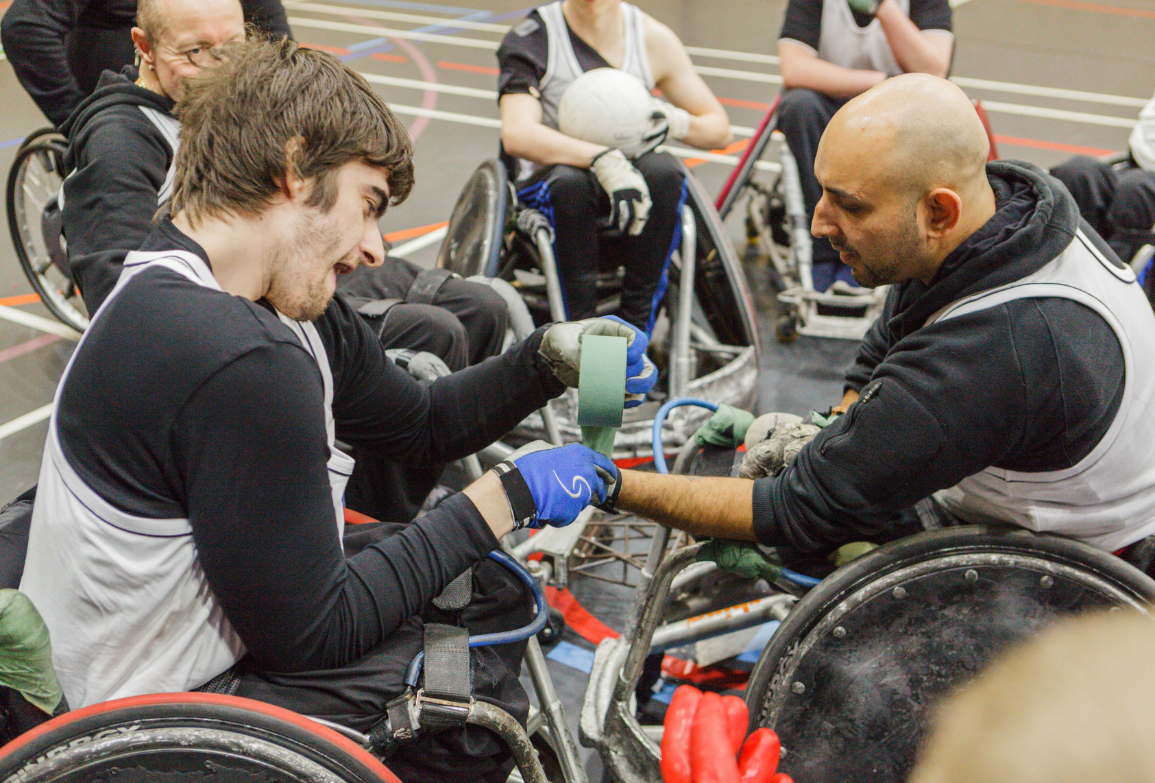 BBC Oneness - Wheelchair Rugby, Photograph