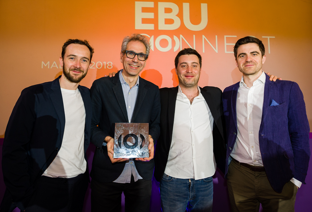 EBU Connect Award Wins
