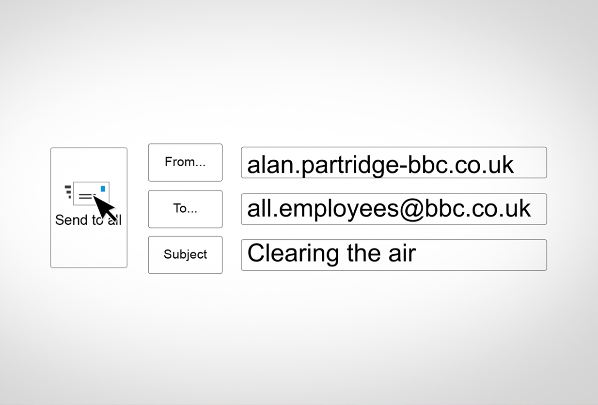 Alan Partridge - Clearing the Air